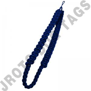 Royal Blue Box Shoulder Cord (Button Loop) (Each)