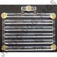 "Ribbon 19 Rack 1/8"" Spaced (Each)"