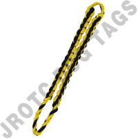 Yellow / Black Shoulder Cord (Button Loop) (Each)