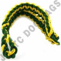 Green / Yellow Shoulder Cord (Button Loop) (Each)