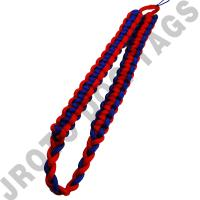 Red / Royal Blue Shoulder Cord (Button Loop) (Each)