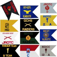Custom Guidon Flag ROTC (Each) (Takes Minimum 2-3 Months)