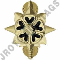 Military Intelligence Army Officer Collar Device (Pair)