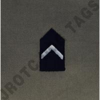 Cadet 4th Class (C/4C) ABU Rank ROTC Sew On (Pair)