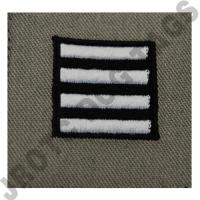 Colonel (COL) ABU Rank ROTC Sew On (Pair)