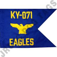 Air Force Guidon Flag with Eagle (Each)  (Takes Minimum 2-3 Months)